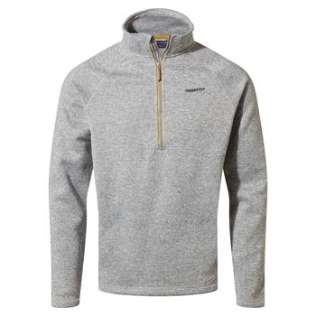 Heelan Half Zip - Cloud Grey
