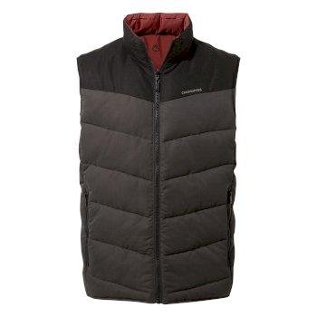 Rigby Downlike Vest - Black / Black Pepper