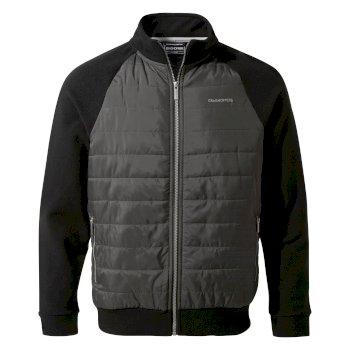 Spence Hybrid Jacket - Black / Black Pepper
