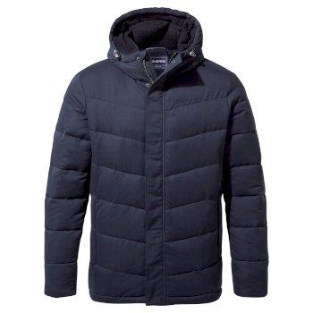Rigby Downlike Hooded Jacket - Blue Navy