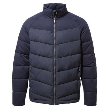 Rigby Downlike Jacket - Blue Navy / Steel Blue