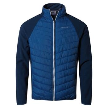 Colby Hybrid Jacket - Poseidon Blue