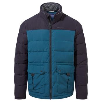 Trillick Downlike Jacket - Dark Navy / Loch Blue