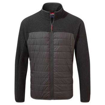 Finglas Hybrid Jacket - Black Pepper