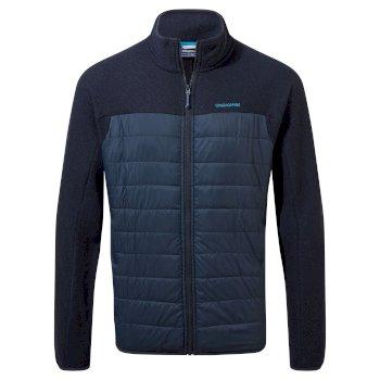 Finglas Hybrid Jacket - Blue Navy