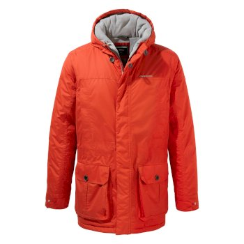 Roteck Jacke - Aster Red