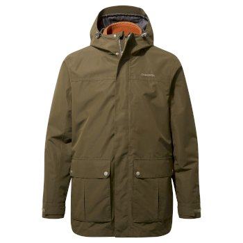 Ricon 3 in 1 Jacket - Dark Moss / Potters Clay