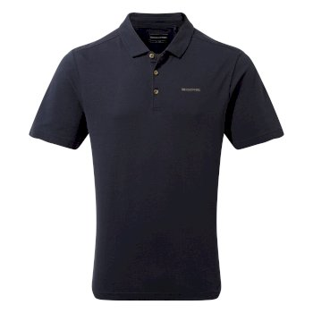 Raul Short Sleeve Polo - Blue Navy