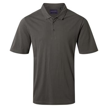 Stanton Short Sleeved Polo - Dark Grey