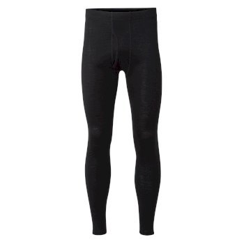 Merino Base Layer Tights - Black