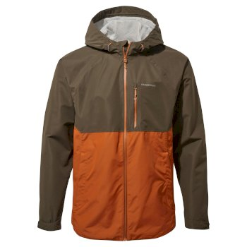 Lucas Jacket - Woodland Green / Potters Clay