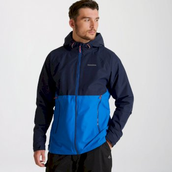 Roswell Jacket - Blue Navy / Avalanche Blue