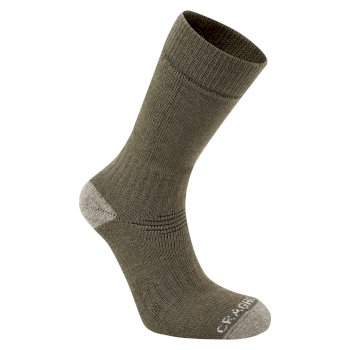Trek Sock - Woodland Green / Sage