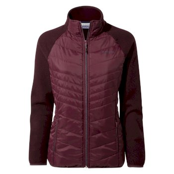 Maddelena Hybrid Jacket - Wildberry / Wildberry