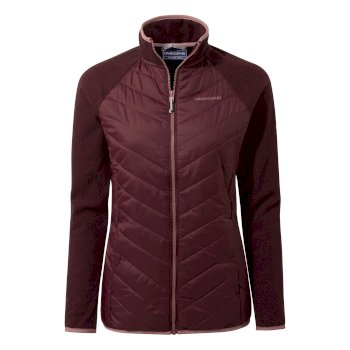 Raissa Hybrid Jacket - Wildberry