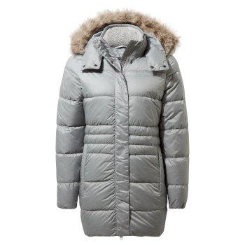 Savita Hooded Jacket - Cloud Grey Marl