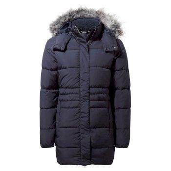 Savita Hooded Jacket - Blue Navy