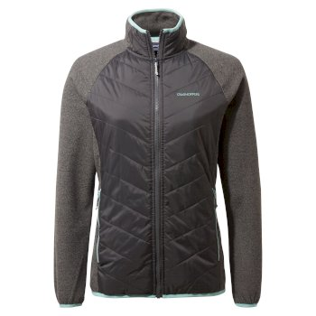 Aubrie Hybrid Jacket - Charcoal