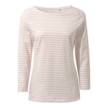 Blanca Long Sleeve Top - Corsage Pink Stripe