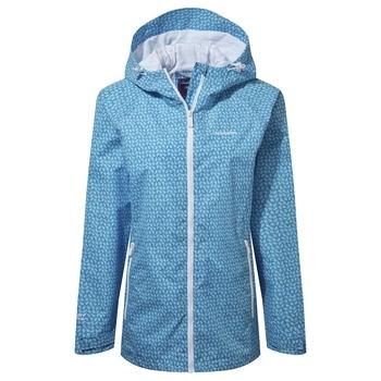 Laurel Jacket - Mediterranean Blue Print